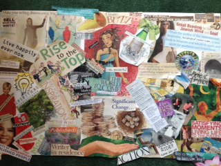 Create Your Writing Year with a Vision Board or Map