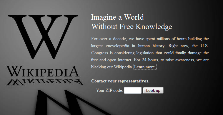 Don't Just Strike, Do Something to Stop SOPA!