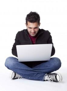 blogging on laptop, blogging, blogging for writers, blogs for writers