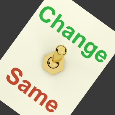 Do You Need to Change Before You Can Author Change?