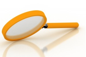 magnifying glass for writers