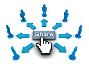 online content sharing