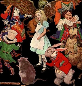 Alice_in_Wonderland  An illustration by en:Jessie Wilcox Smith wikimedia public domain