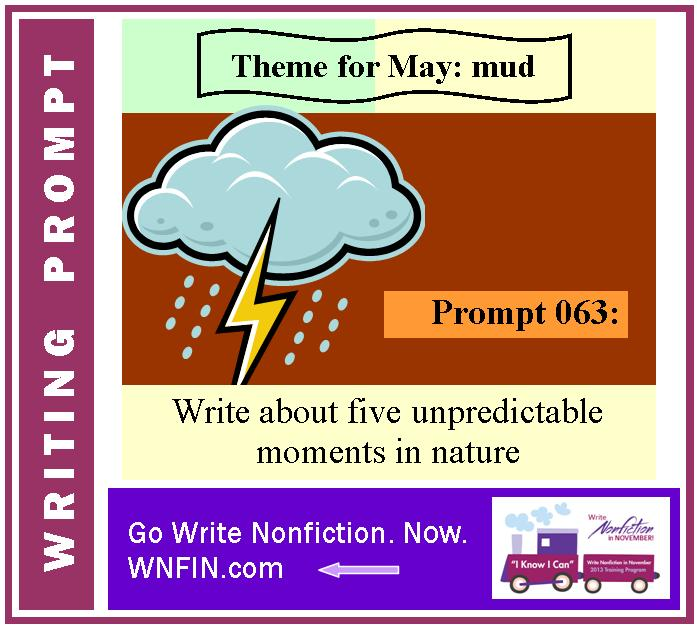 Writing Prompt: Write About Five Unpredictable Moments in Nature