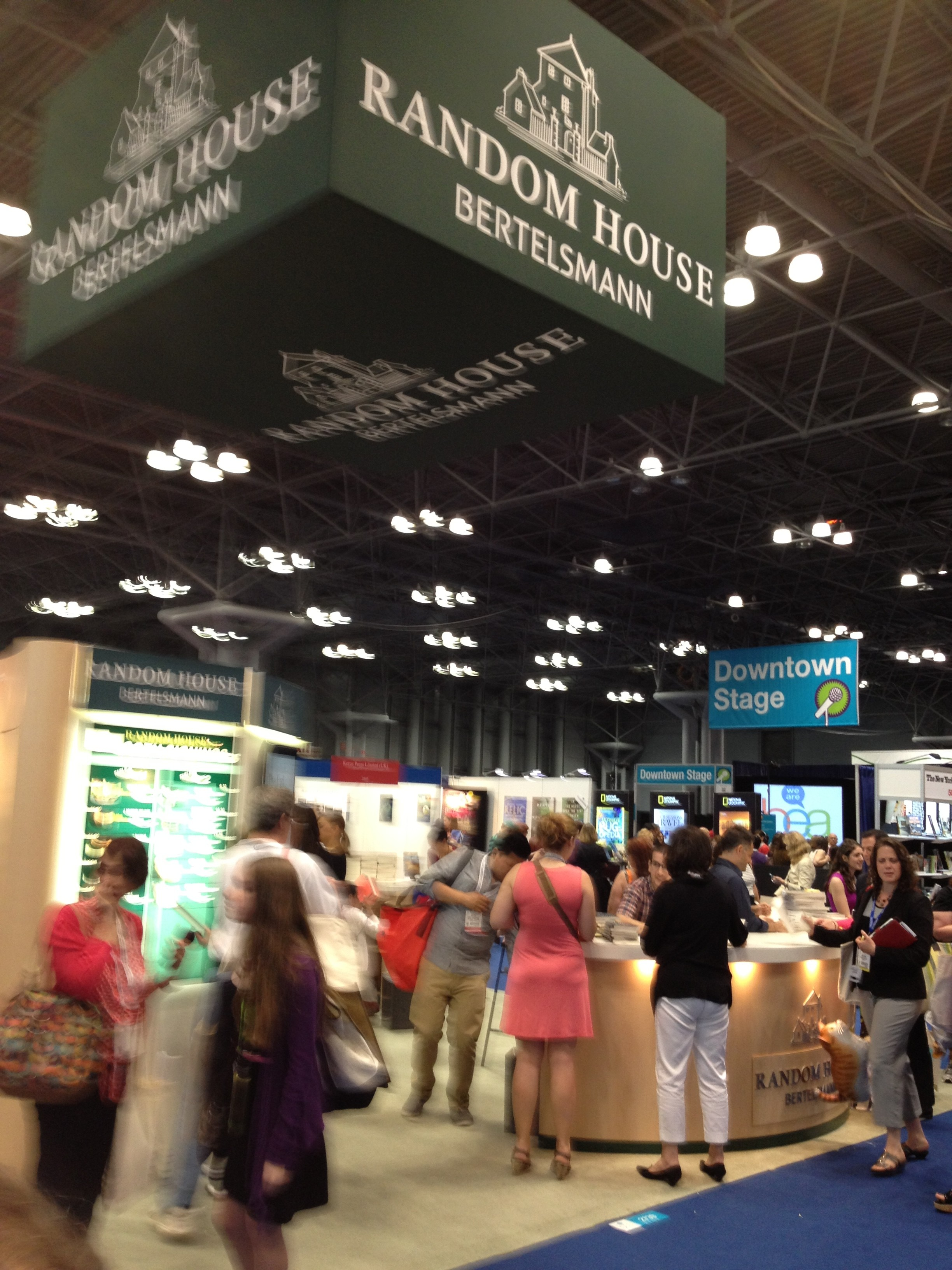 What Does A Writer Do at Book Expo America?
