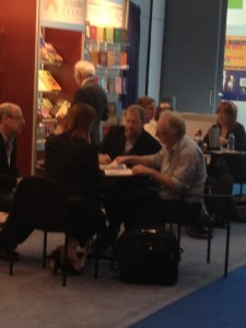 You can meet agents, edtiors and publishers at BEA