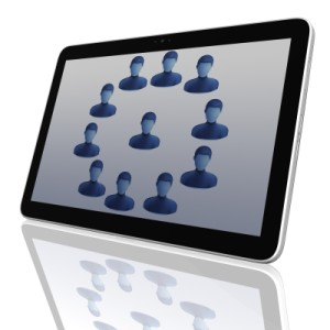 An author platform is built with social networks.