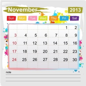 Write a nonfiction book in November