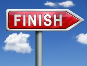 tips for getting to the finish line