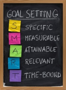 Writers need to set goals to achieve success