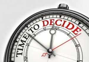 make a decision to succeed