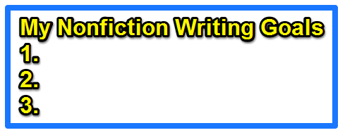 Create Book Ideas to Support Your Goals: Nonfiction Writing Prompt #10