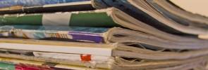 magazine stack