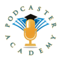 Podcaster Academy logo