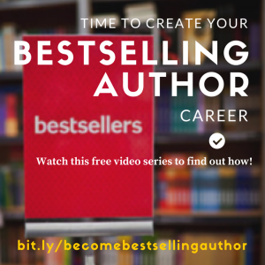 If you want to be aBestselling autho