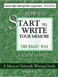 Start to Write Your Memoir