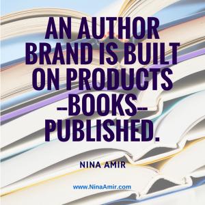 how authors create a brand