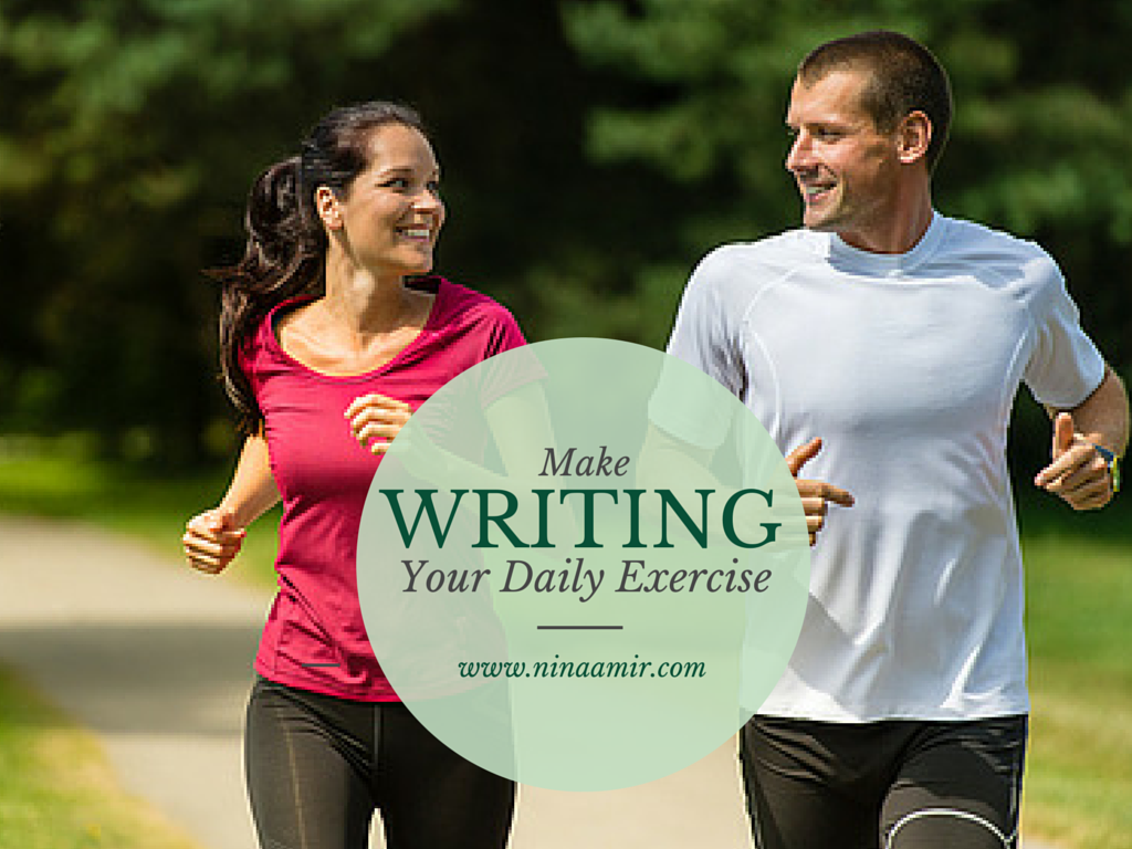 practice your writing like daily exercise