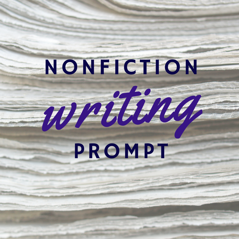 Acknowledge Your Accomplishments: Nonfiction Writing Prompt #42