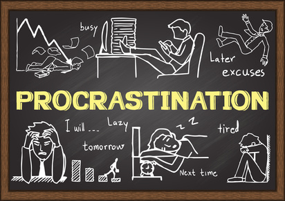 5 Ways Procrastinators Can Become Writers
