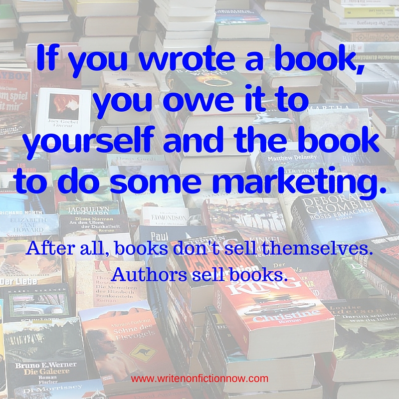 authors sell books