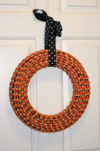 candy corn wreath 400x600