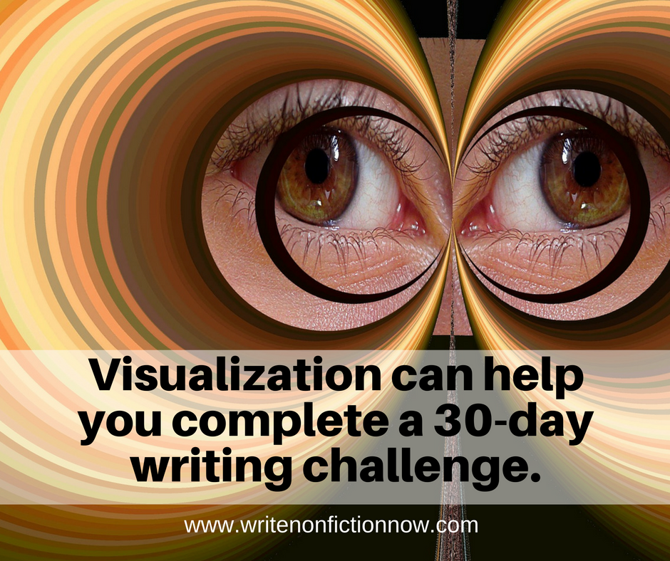 Visualization Tools for a 30-day Writing Challenge