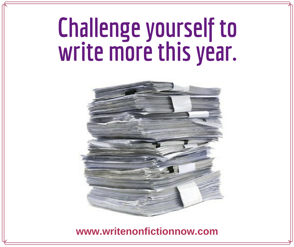 Personally Challenge Yourself to Write More this Year