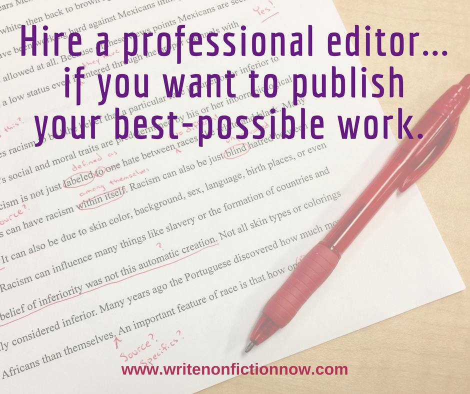 5 Reasons to Hire a Professional Book Editor
