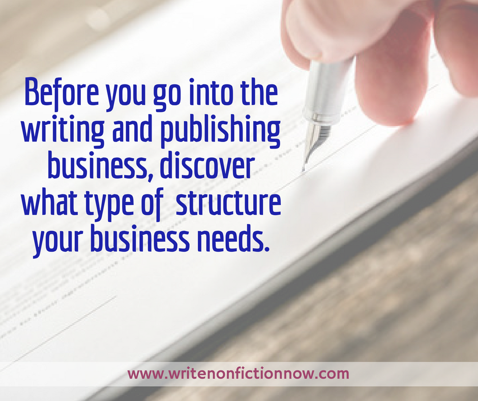 What Indie Authors Need to Know About Business Set Up