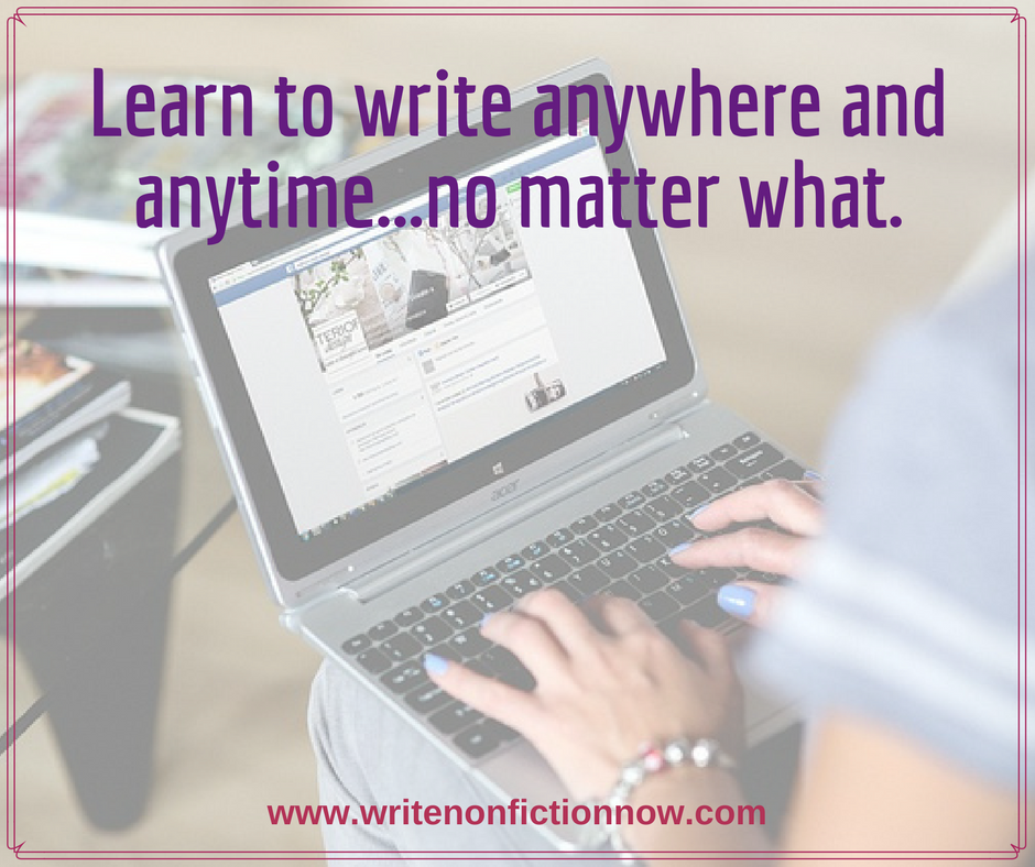 write no matter what