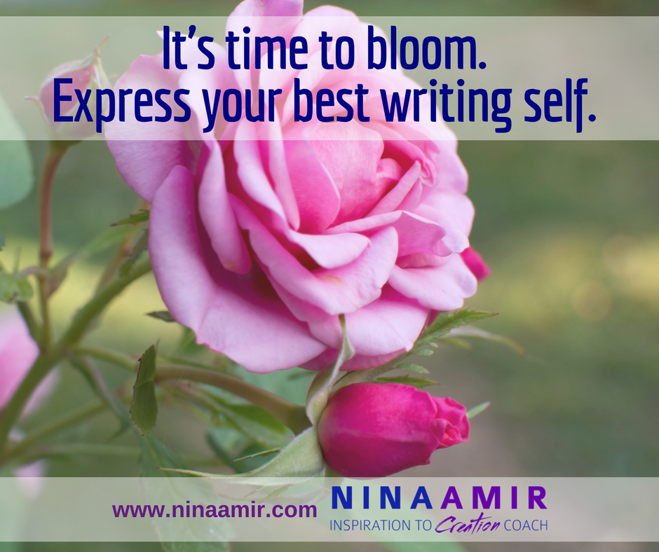 bloom into your best writing self