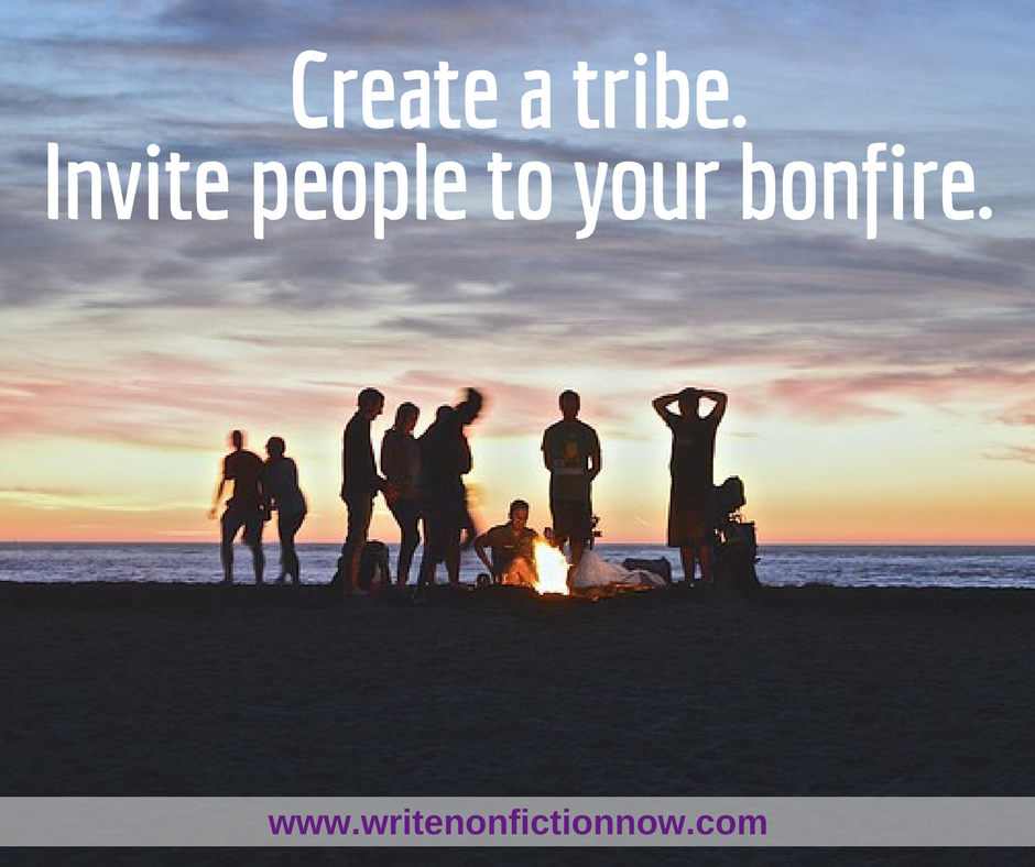 June Nonfiction Writing Challenge: Build Your Tribe