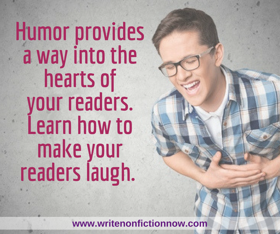 How to use Humor Effectively in Your Nonfiction Work