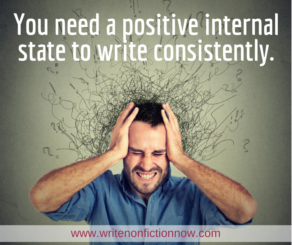 internal state affects writing