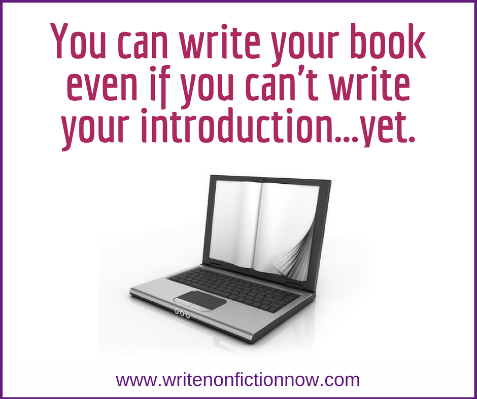 Writing the Perfect Introduction for your Nonfiction Book