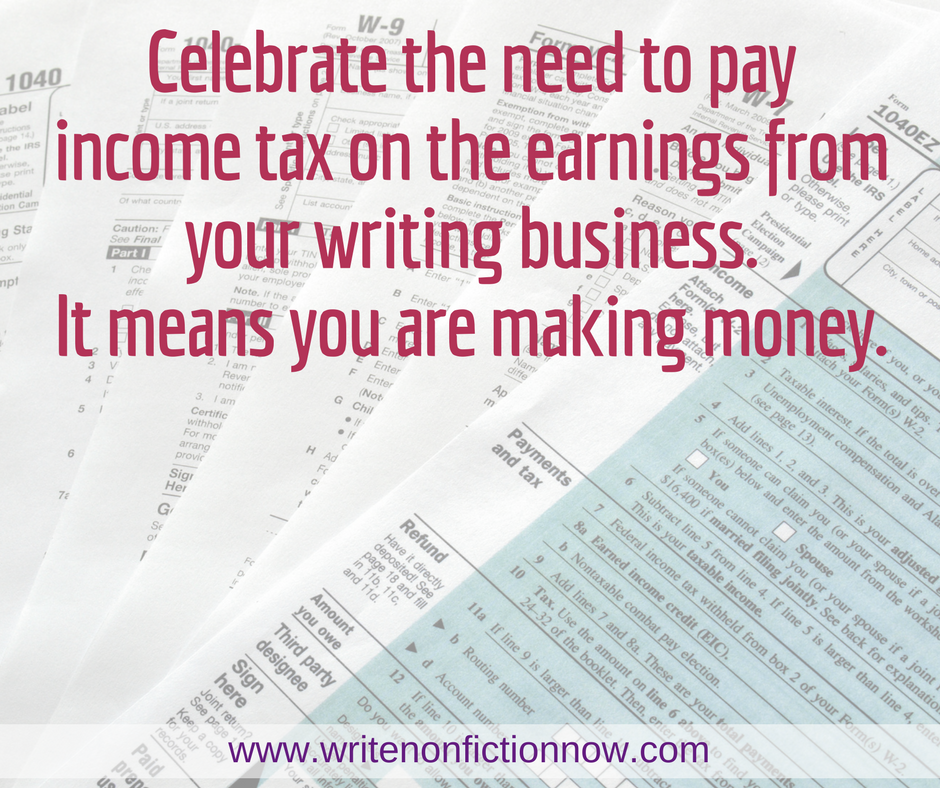 Income Tax Basics for Writers