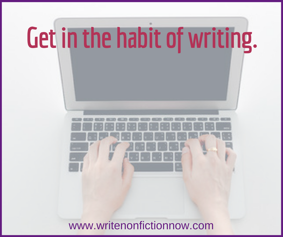 August Nonfiction Writing Challenge: Create a Daily Writing Habit