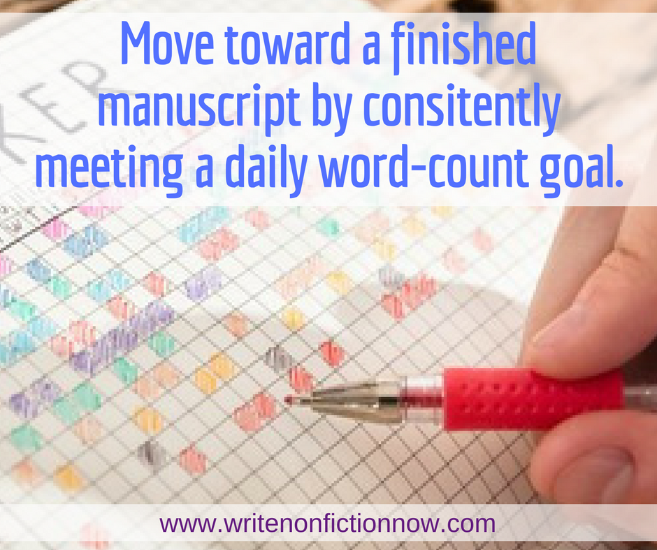 daily word-count goal