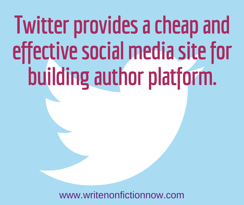 Twitter for author platform