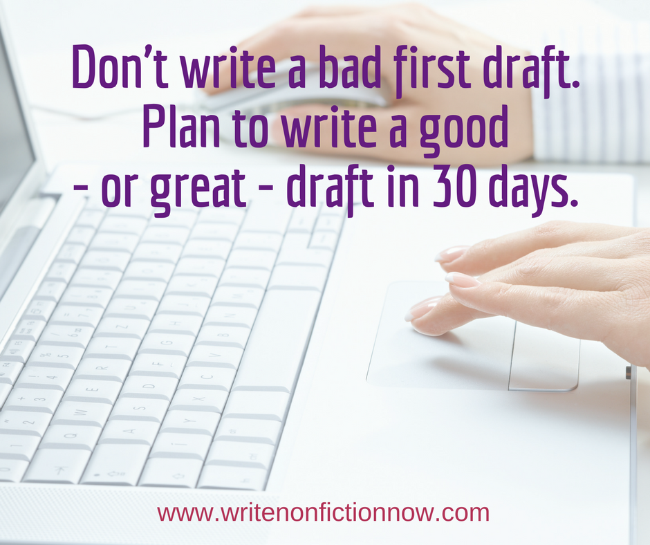 9 Steps to Help You Write a Good First Draft in a Month
