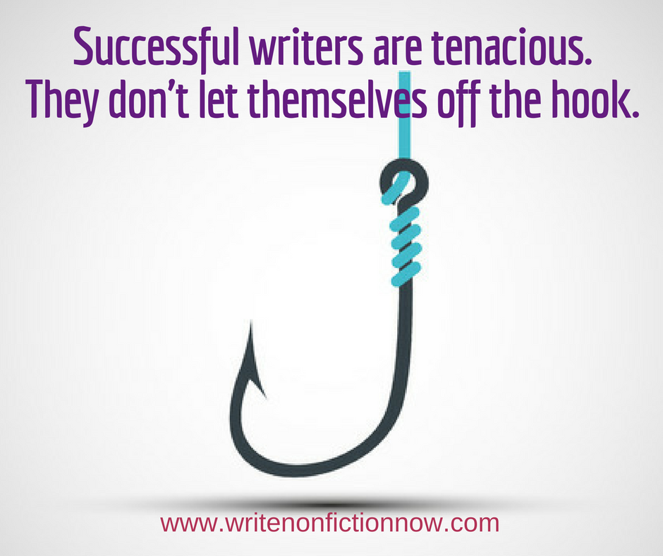 successful writers have tenacity