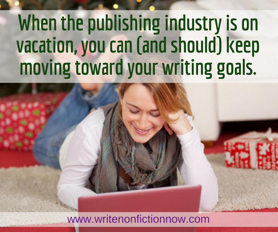 How to Keep Moving Toward Your Writing Goals in December