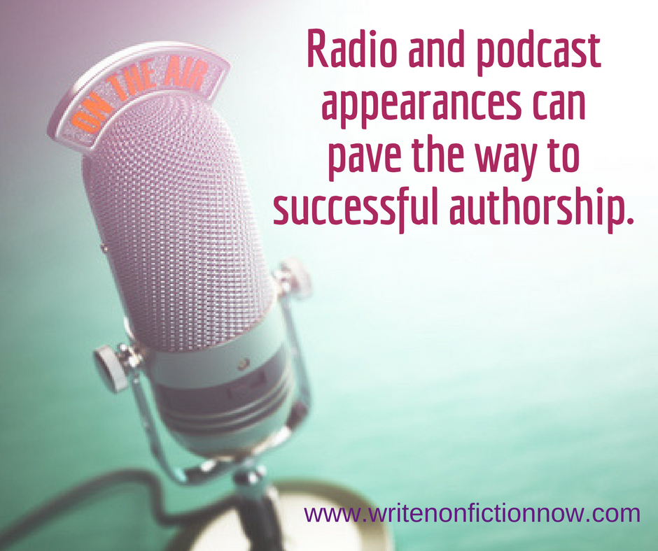 podcasts and radio create mega authors