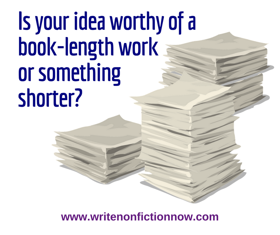 Is My Idea Fit to Become a Nonfiction Book?