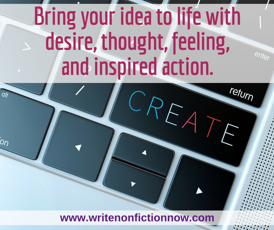 how to create idea for writers