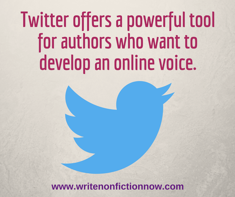 Writers use Twitter