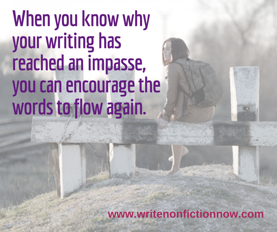 What's at the Root of Your Writing Impasse?