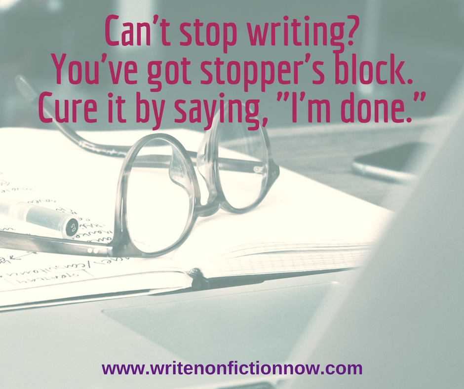 4 Reasons Why You Can't (But Should) Stop Writing