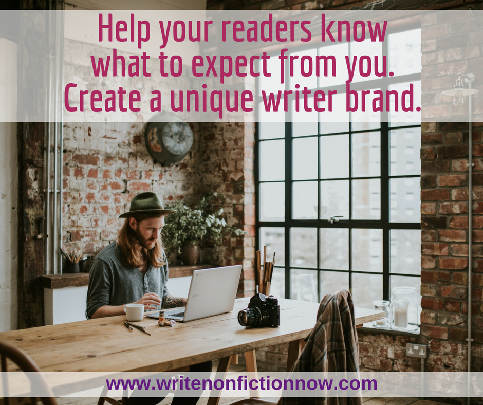 Branding Tips to Help Build Your Writing Career